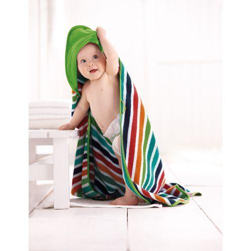 Baby-Frottee-Kapuzenhandtuch mit Namen - Bei Babys einfacher zu handhaben ♥ sorgfältig ausgewählt ♥ Jetzt online bestellen!