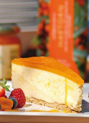Havtornscheesecake - Recept