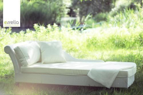 Polyrattan-Sonnenliege-Rattan-Moebel-Gartenmoebel-Poly-Rattan-Liege-Chaiselongue