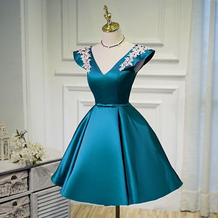 Royal Blue Cocktail Dress Vestidos De Baile Short Graduation Dresses Vestidos Elegantes Prom Dresses Cheap Formal Evening Gowns