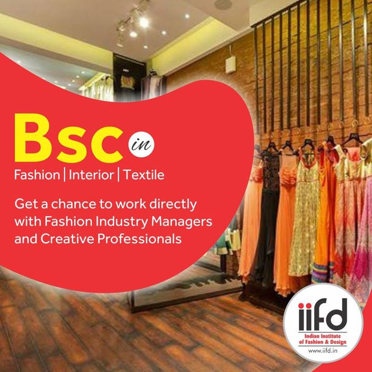 Admission Open For Bsc In Fashion Interior Textile Designing