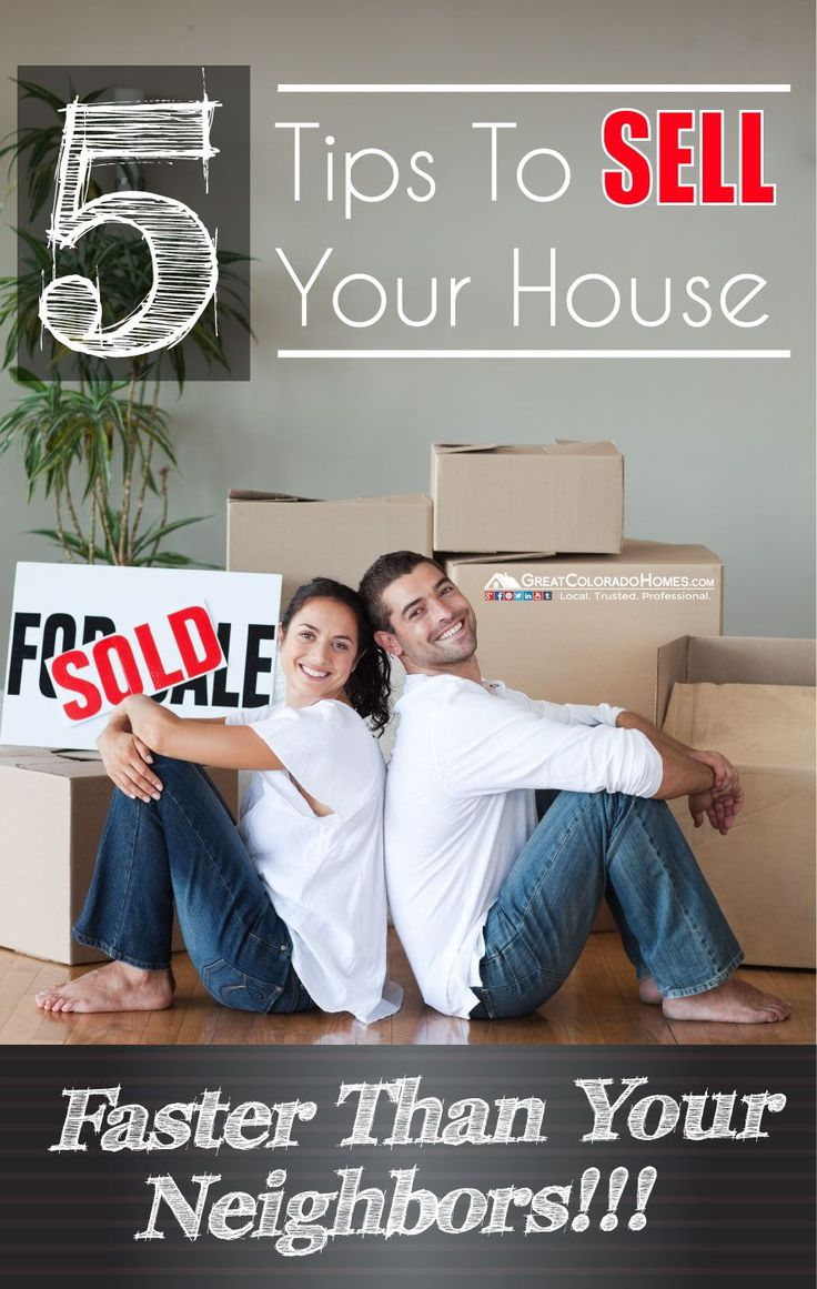 5 Tips to Help Sell Your House Faster Than Your Neighbors: http://www.greatcoloradohomes.com/blog/5-tips-to-help-sell-your-house-faster-than-your-neighbors.html #realestate