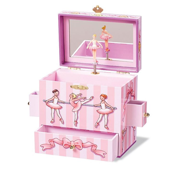 Enchantmints Ballet Class Musical Jewelry Box, Multicolor- Girls