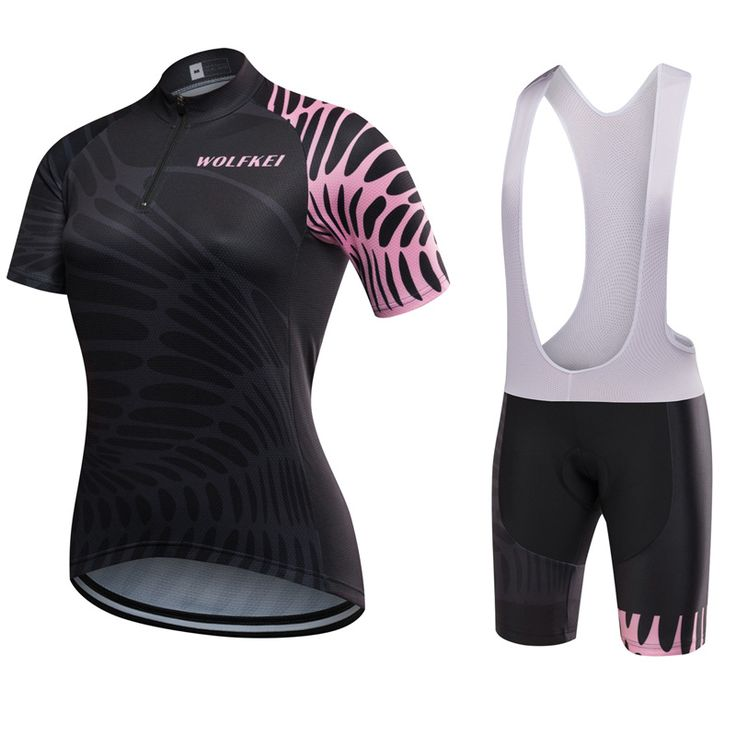 Find More Cycling Sets Information about 2017 WOLFKEI Half Zipper Women Cycling Jersey bib shorts kit Bike maillot Cycling Clothing With GEL PAD Strap sets Ropa Ciclismo,High Quality cycling jersey bib shorts,China jersey bib shorts Suppliers, Cheap women cycling from WOLFKEI WOLFKEI Cycling Store on Aliexpress.com