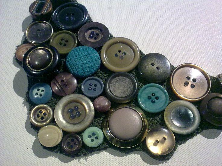 #collane #bottoni #riciclo