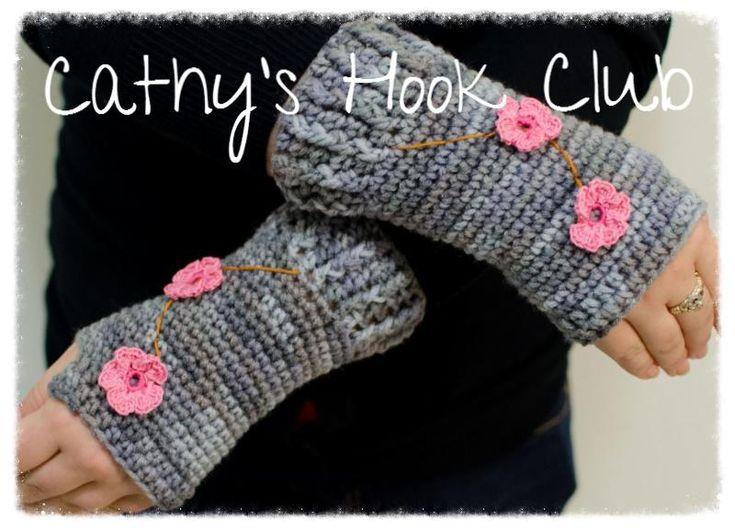 Free Crochet Pattern Opera Gloves : 1000+ images about Crochet fingerless gloves on Pinterest