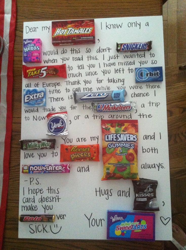DIY Candy Board Dear Future Husband My FUTURE