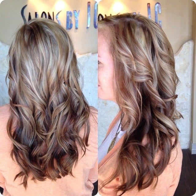 Partial Highlights : Partial highlight lowlight Beauty / Hair Pinterest