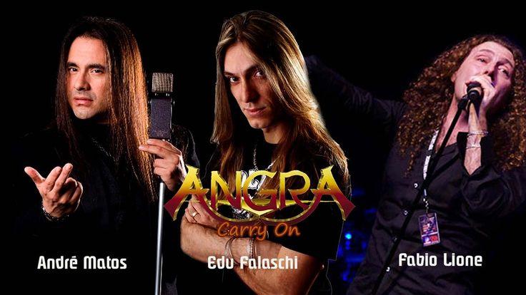 Angra - Carry On - André Matos | Edu Falaschi | Fabio Lione