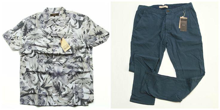 Summer essentials pentru barbati >>  Camasa (50 Lei) http://bit.ly/1MemSlK Pantaloni (50 Lei) http://bit.ly/1NO2W9S