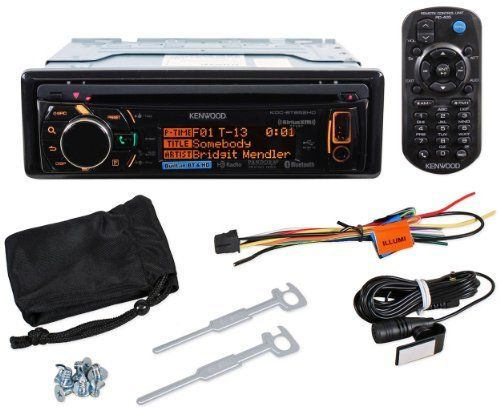 Kenwood KDC-BT852HD Single-Din In-Dash HD Radio CD/USB Receiver With Pandora And Android Music Control by Kenwood. $183.99. Kenwood KDC-BT852HD Single-Din In-Dash HD Radio CD/USB Receiver With Pandora And Android Music Control Features      CD receiver with AM/FM tuner     Built-in MOSFET amplifier (22 watts RMS/50 peak x 4 channels)     Plays CDs, CD-Rs, and CD-RW discs including discs loaded with MP3, WMA, and AAC music files     Built-in HD Radio tuner     Built-in Blueto...