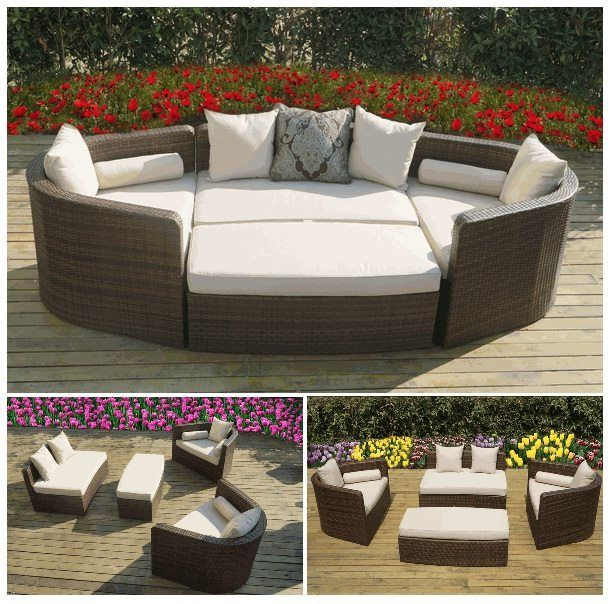Delightful Ohana Wicker Furnitureu0027s Popular Daybed Sofa Set. Only $1499. // Ohana    Outdoor Idea