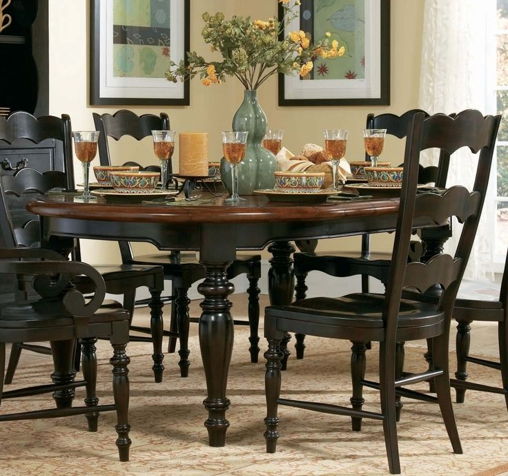 Round Kitchen Table Sets Design Roomraleigh kitchen cabinets Nice