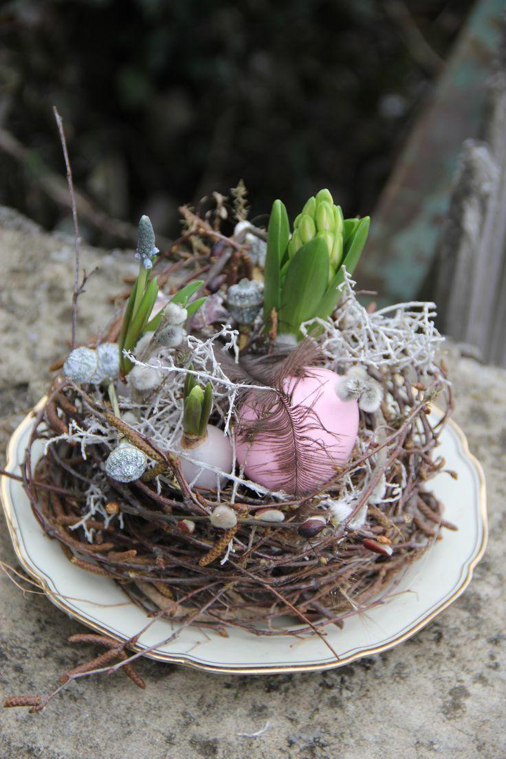 Nest Österlich mit Zwiebel Pflanzen – #mit #nest #österlich #Pflanzen #Zwieb… badae067932b36209423c8487a0991eb