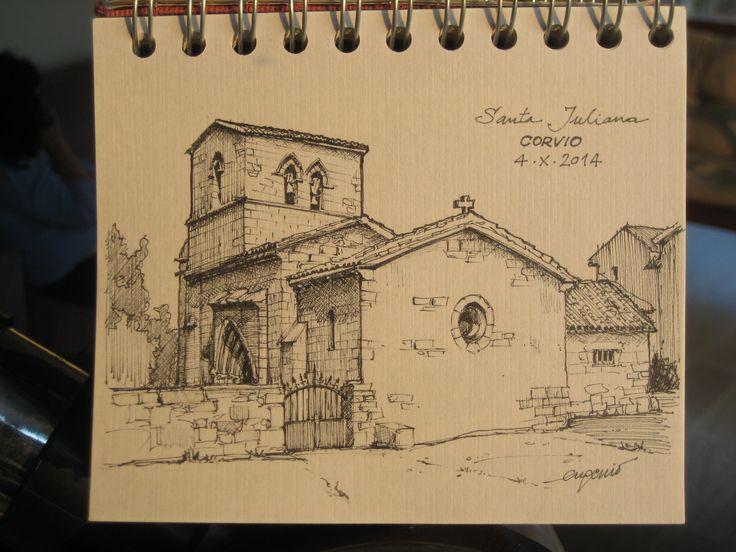 Santa Juliana. Corvio, Palencia.