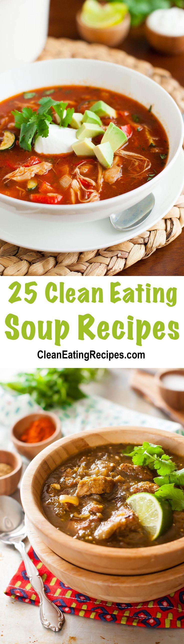 I love Clean Eating soup. So easy to throw all the ingredients in and let all the flavors meld together.
