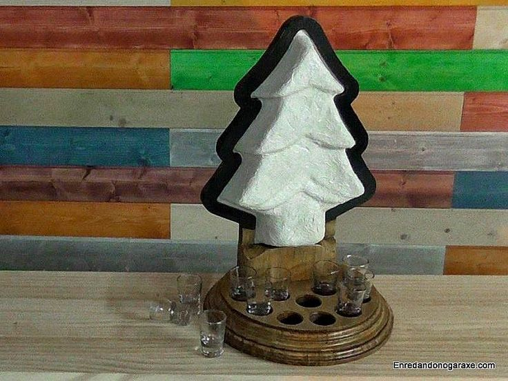 Cómo hacer una lámpara led con forma de árbol de Navidad. Aquí tienes los enlaces a los artículos con vídeos explicados paso a paso para hacer esta lámpara