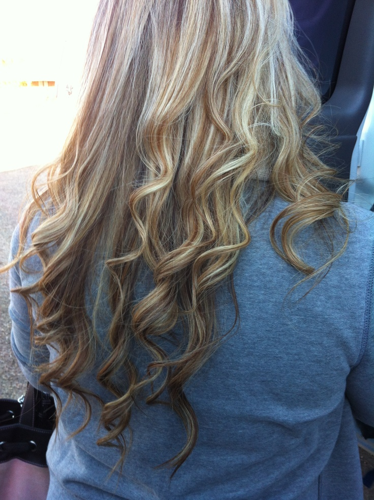 Curly Dirty Blonde Hair 50