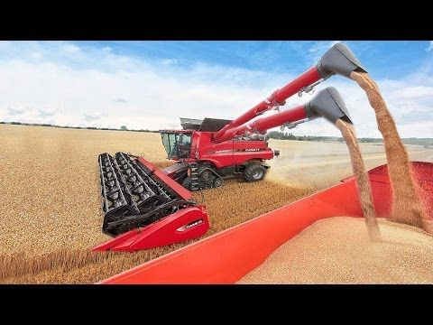 World Amazing Modern Agriculture Equipment and Mega Machines Tractor, Harvester, Loader, Silo Truck - YouTube