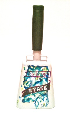 Handpainted Cowbell: State of Mississippi What a great wedding gift!!
