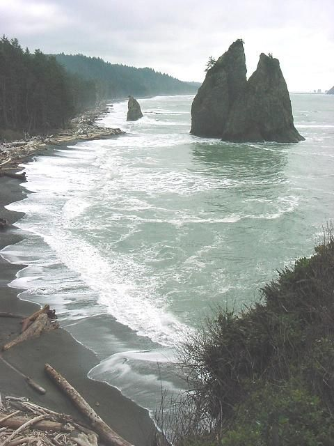 Rialto Beach ~ Olympia National  Park, Washington