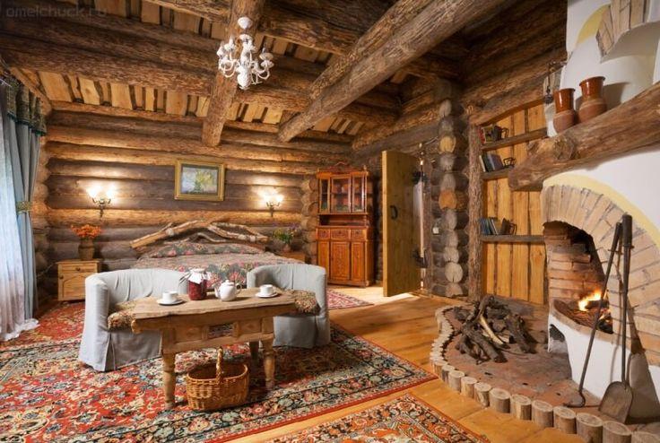 (+19) Красивые интерьеры деревянных домов : Интерьер : Дом : Subscribe.Ru
