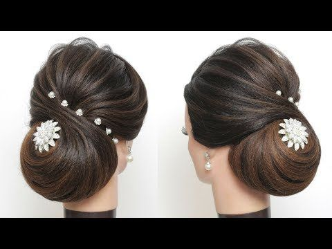 New Bridal Hairstyle For Long Hair Tutorial Perfect Wedding Updo Youtube Long Hair Tutorial Easy Hairstyles For Long Hair Long Hair Styles