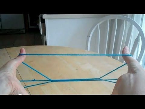 Cup and Saucer with string, step by step #stringgames #games #kids