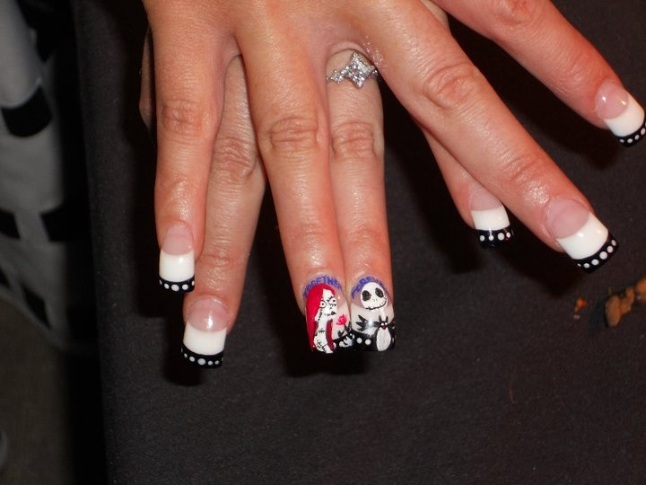 29 best Jack & Sally Nails images by Misty Whitfield on Pinterest ...