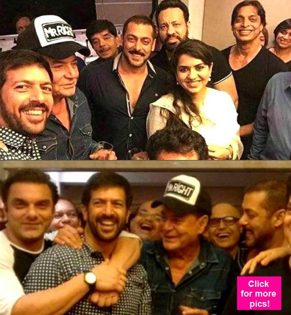 Salman Khan celebrates daddy dearest Salim Khans birthday with family and friends  view pics!