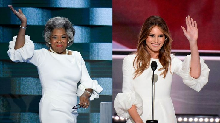 The new plagiarism scandal: Joyce Beatty steals Melania Trumps look