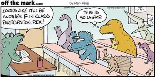 Top 10 des trucs qu'un t-rex ne peut pas faire, parce que pas de bras, pas de chocolat