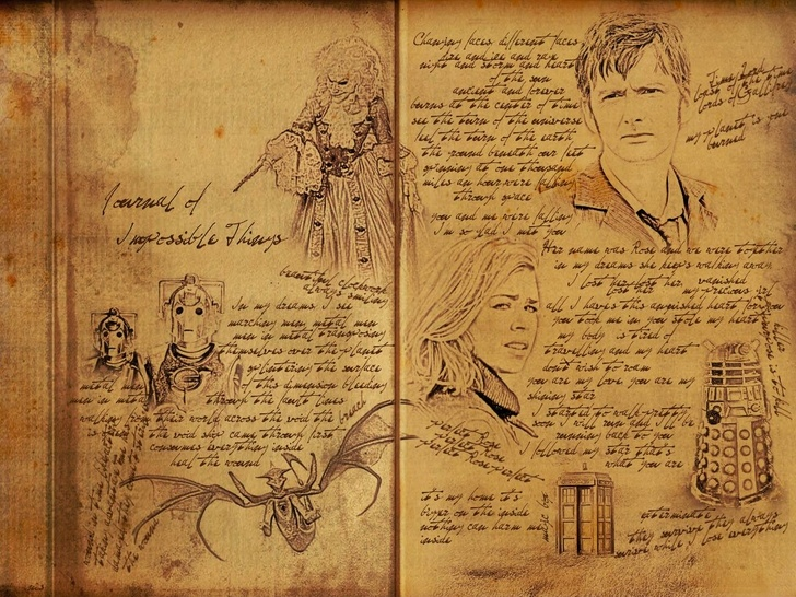 Journal of impossible things river songs diary