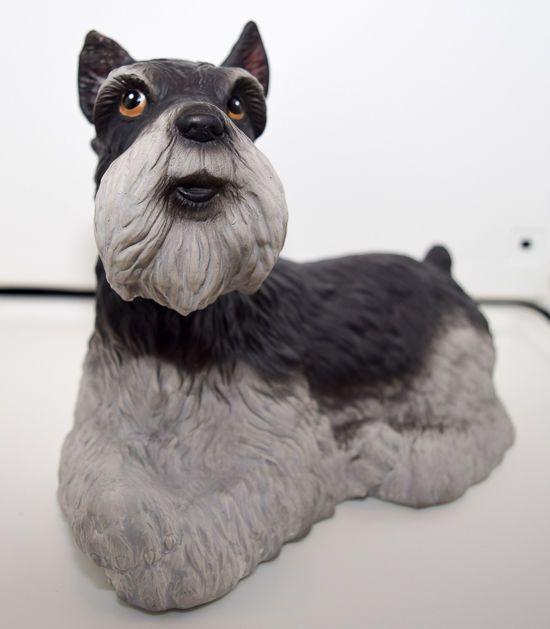 Lefton China Bank - Schnauzer Dog (07629)