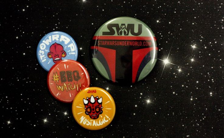 May The Fourth Be With You: The Star Wars Underground Buttons are Out of this World! http://peoplepowerpress.org/blogs/news/may-the-fourth-be-with-you-the-star-wars-underground