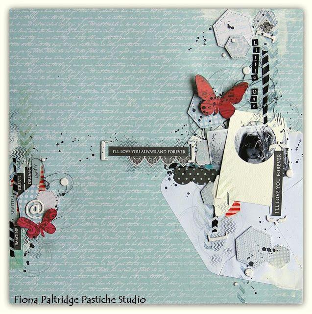Pastiche Scrapbook Studio: Scrap and Pieces GDT for June