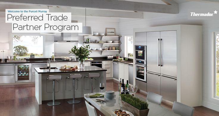 Dream Kitchen @Purcell Murray. #white#modern#kitchen.