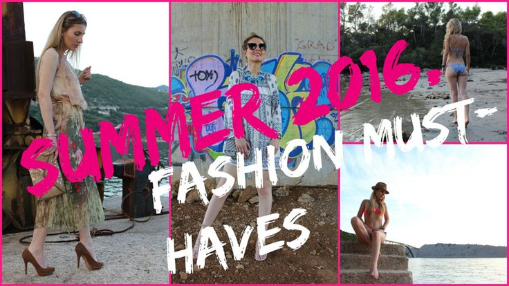 Trench Collection by Sonia Verardo: TOP 5 SUMMER FASHION MUST HAVES!