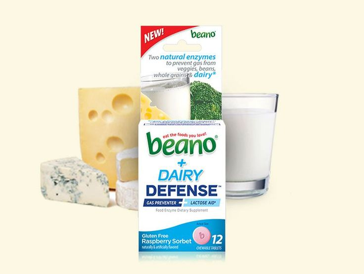 beano® + Dairy Defense™ | Beano Gas