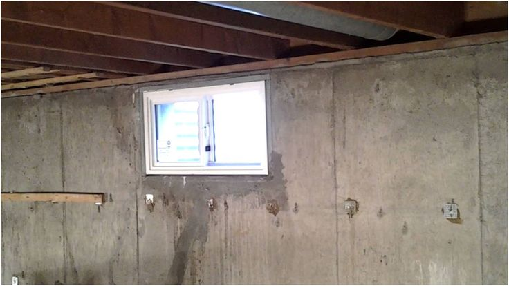 Installing A Basement Window In Concrete Basements Ideas from Replacing Basement Windows In Concrete