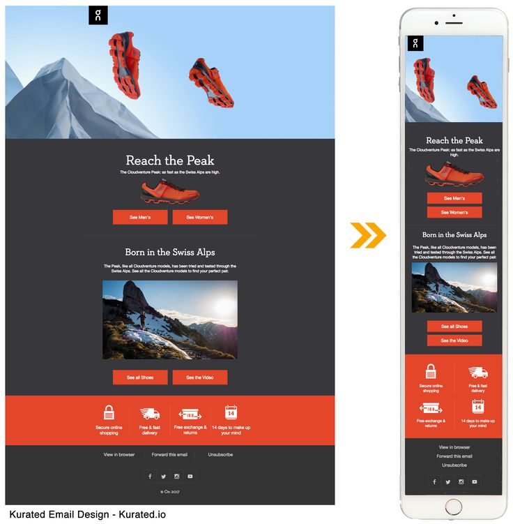 Best Responsive Email Design Images On   Responsive