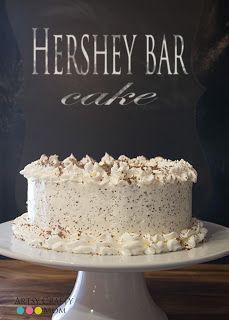 The Artsy-Crafty Mom: Hershey Bar Cake