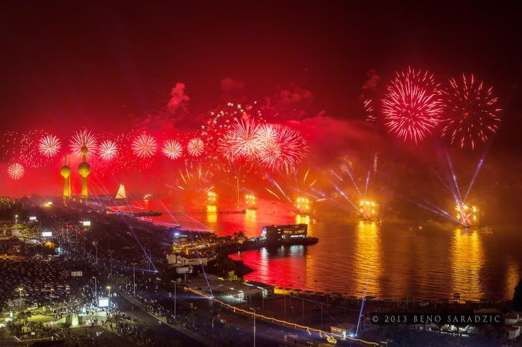 Mother of all fireworks by Beno Saradzic on 500px