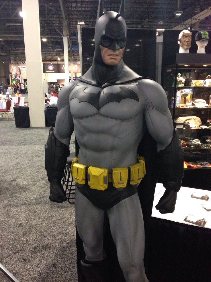The life size Batman statue  DC Comics Collectibles