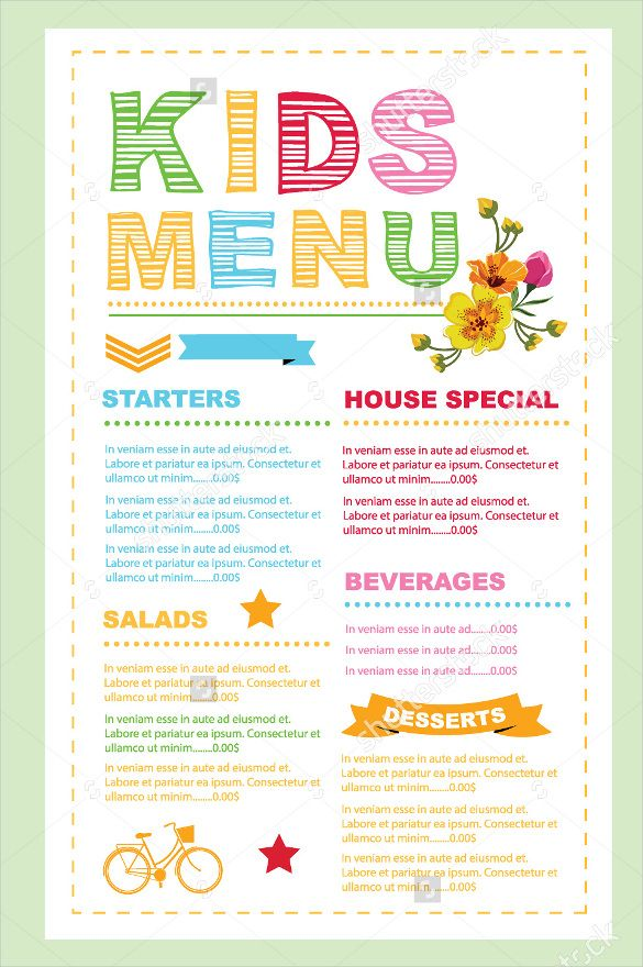 Restaurant menu card template free vector download (26,549 ...