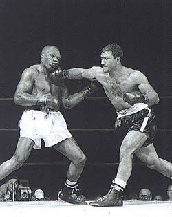 Rocky Marciano, was an American boxer and the heavyweight champion of the world from September 23, 1952, to April 27, 1956. Marciano is the only champion to hold the heavyweight title and go undefeated throughout his career.