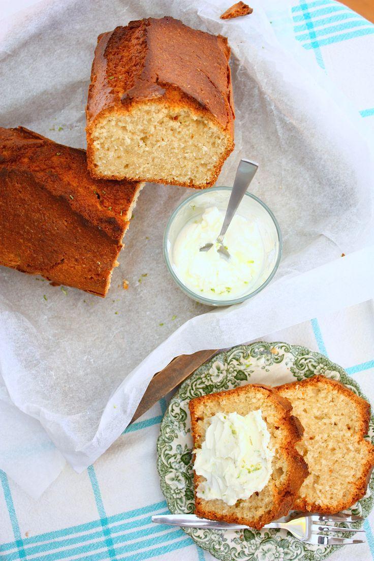 Kokos-limoenbrood uit All day breakfast // Francesca Kookt