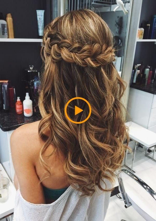 61 Peinados Simples Para Cabello Largo Y Cabello Corto Ideas Elegantes Estilo De Vida Mujer 2 Coiffures Simples Cheveux Courts Coiffure
