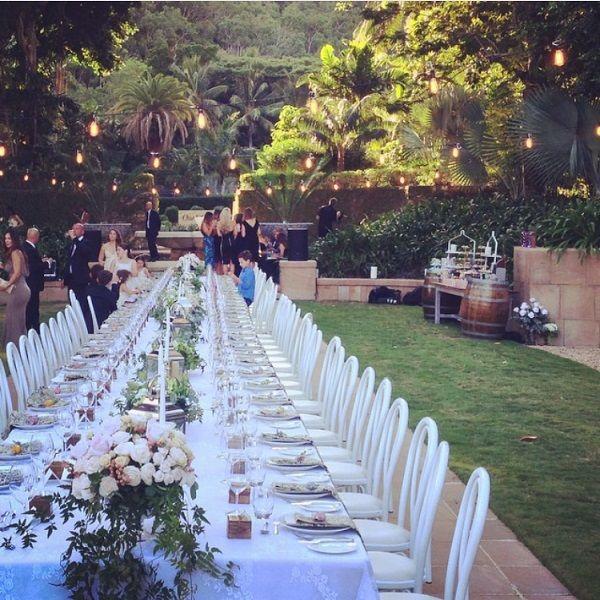 Wedding, Formal Gardens