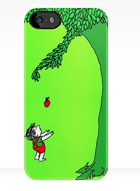 The Giving Tree iPhone Case. Can't resist.